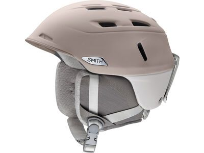 Smith Compass, matte tusk vapor - Snowboardhelm