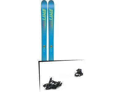 Set: Line Gizmo 2018 + Marker Alpinist 9 black/titanium