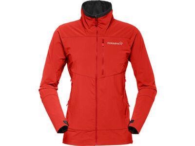 Norrona falketind flex1 Jacket, crimson kick - Softshelljacke