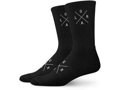 Loose Riders Cotton Socks 3-Pack X-Logo black