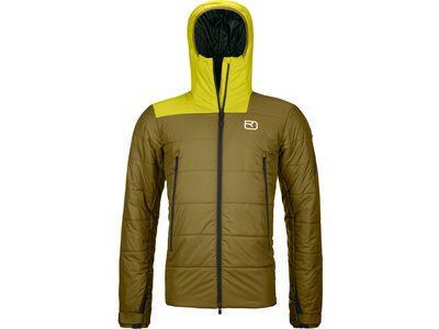 Ortovox Swisswool Zinal Jacket M green moss