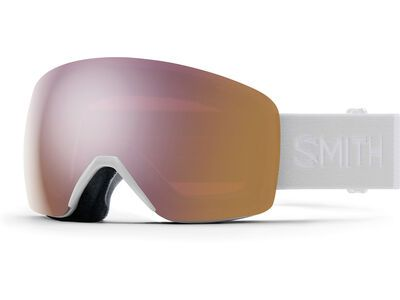 Smith Skyline, white vapor/Lens: cp everyday rose gold mir - Skibrille