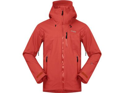 Bergans Stranda Insulated Hybrid Jacket lava/bright magma