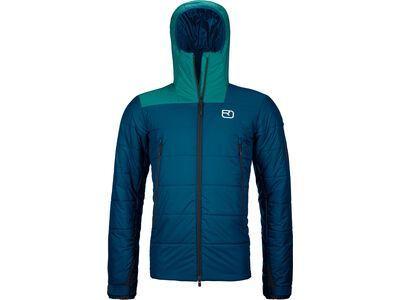Ortovox Swisswool Zinal Jacket M petrol blue