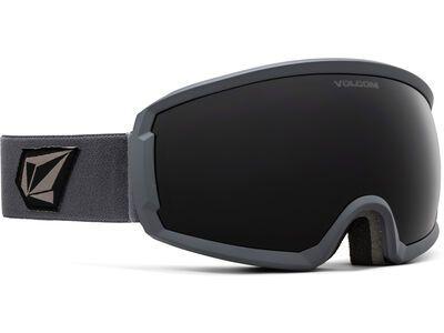Volcom Migrations, gray/Lens: dark gray - Skibrille