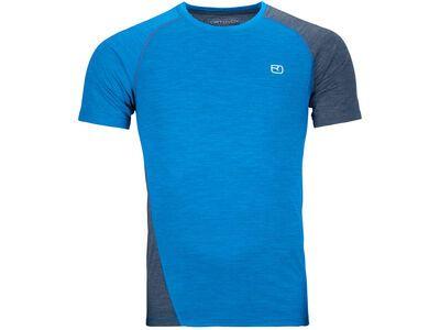 Ortovox 120 Cool Tec Fast Upward T-Shirt M safety blue blend