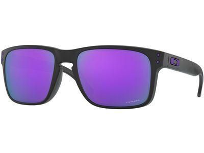 Oakley Holbrook Prizm, matte black/Lens: prizm violet - Sonnenbrille