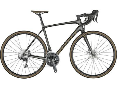 Scott Addict 10 Disc 2021, black/brown - Rennrad