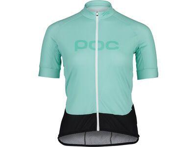 POC Essential Road Women's Logo Jersey lt fluorite green/fluorite green