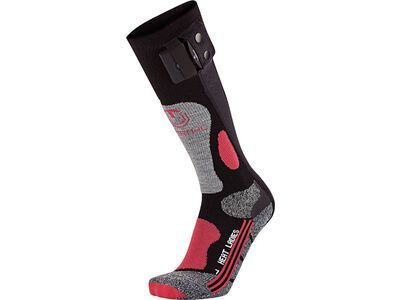 Therm-ic PowerSock Heat Ladies, black/purple - Heizsocken
