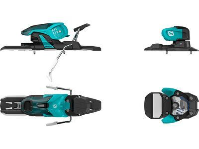 Salomon Warden 11 90 mm, turquoise/black - Skibindung