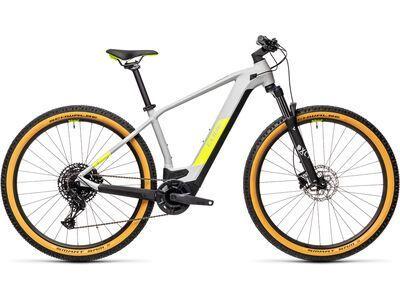 Cube Reaction Hybrid Pro 625 29 2021, grey´n´yellow - E-Bike