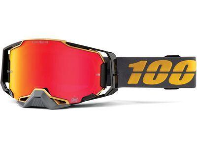 100% Armega, falcon 5/Lens: hiper red mirror - MX Brille