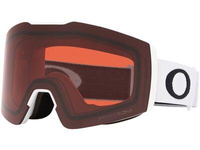 Oakley Fall Line XM Prizm, matte white/Lens: rose - Skibrille