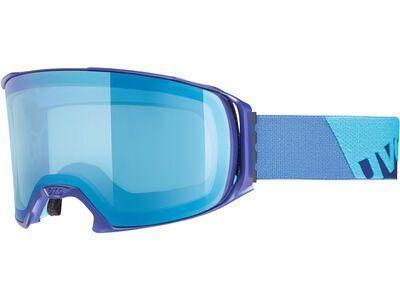 uvex craxx FM, indigo mat/Lens: mirror blue - Skibrille
