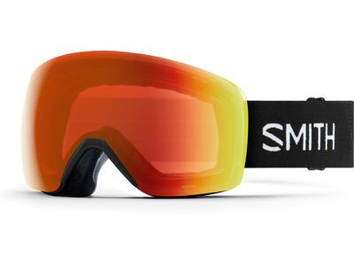 Smith Skyline, black/Lens: cp everyday red mir - Skibrille