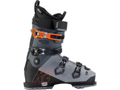 K2 SKI Recon 100 MV GripWalk 2021, gray-black-orange - Skiboots