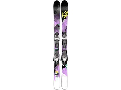 K2 Remedy 75 JR. Fastrak2 4.5 2015 - Ski-Set