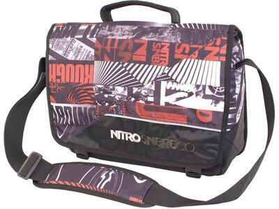 Nitro Evidence, White Graft - Messenger Bag