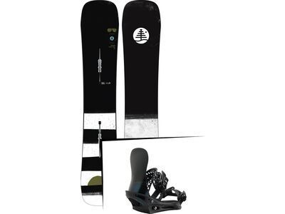 Set: Burton Family Tree Trick Pilot 2019 + Burton X-Base black matte