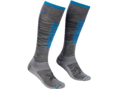 Ortovox Ski Compression Long Socks M grey blend