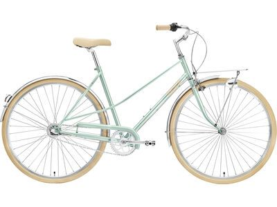 Creme Cycles Caferacer Lady Uno florida green 2021