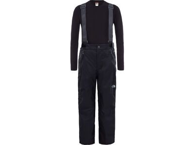 The North Face Youth Snowquest Suspender Plus Pant, tnf black - Skihose