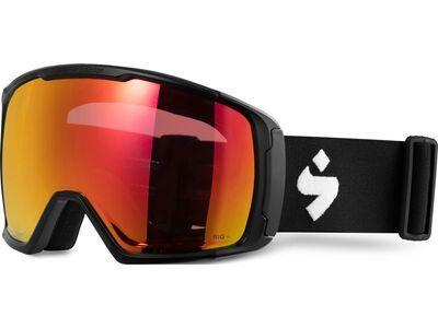 Sweet Protection Clockwork MAX, matte black/Lens: RIG topaz - Skibrille