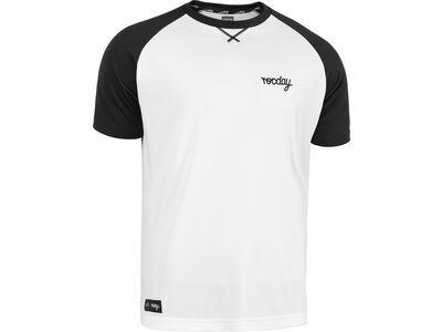Rocday Park Jersey, white / black - Radtrikot