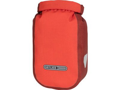 Ortlieb Fork-Pack Plus 3,2 L - Gabeltasche, signal red-dark chili