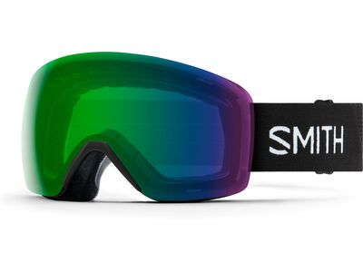 Smith Skyline, black/Lens: cp everyday green mir - Skibrille