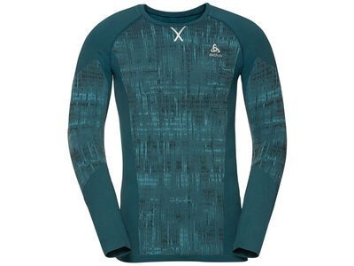 Odlo Men's Blackcomb Baselayer Top, submerged