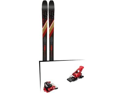 Set: K2 SKI Wayback 80 2019 + Tyrolia Attack² 13 GW red