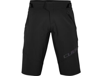 Cube Edge Baggy Shorts X Actionteam, black - Radhose