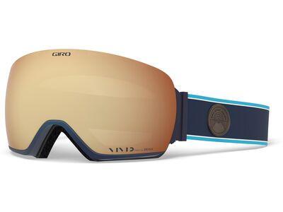 Giro Article inkl. WS, midnight element/Lens: vivid copper - Skibrille