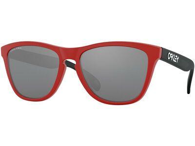 Oakley Frogskins Prizm, matte redline/Lens: prizm black - Sonnenbrille