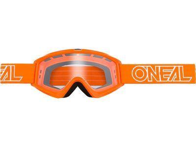 ONeal B-Zero Goggle Clear orange