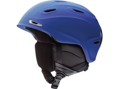 Smith Aspect, matte klein blue - Snowboardhelm