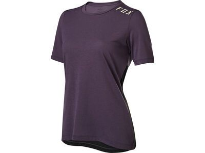 Fox Womens Ranger Drirelease SS Jersey, dark purple - Radtrikot