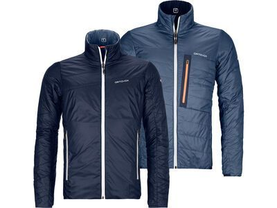 Ortovox Swisswool Light Piz Boval Jacket M, dark navy - Thermojacke