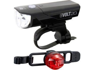 Cateye GVolt 20 RC + Loop 2G Beleuchtungsset