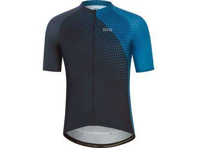 Gore Wear Flash Trikot orbit blue/sphere blue