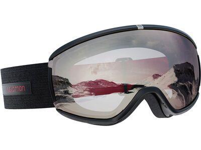 Salomon iVY, black swan/Lens: ml super white - Skibrille