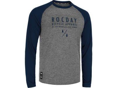 Rocday Manual Jersey melange / dark blue