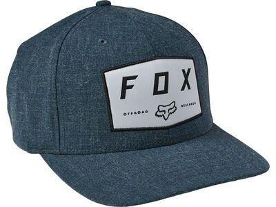 Fox Badge Flexfit Hat dark indigo