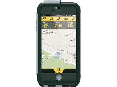 Topeak Weatherproof RideCase iPhone 6+/6s+ mit Halter, black/gray - Schutzhülle