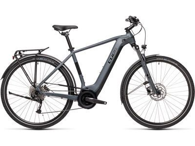 Cube Touring Hybrid ONE 625 2021, grey´n´black - E-Bike