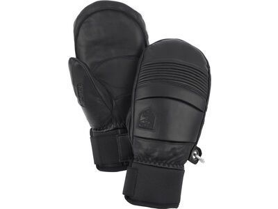 Hestra Leather Fall Line Mitt, black - Skihandschuhe