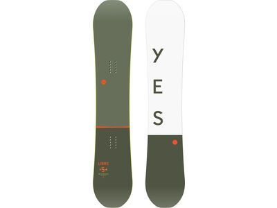 Yes Libre Wide 2020 - Snowboard