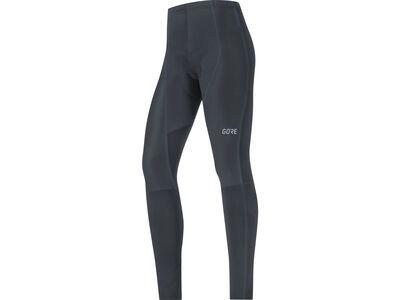 Gore Wear C3 Damen Partial Gore Windstopper Tights+, black - Radhose